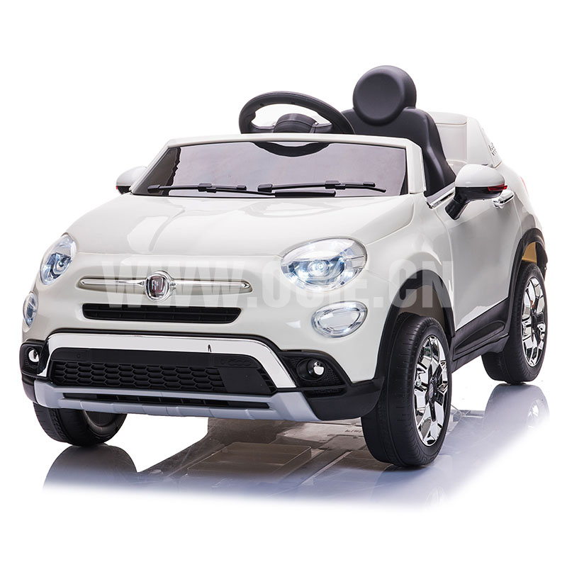 RECHARGEABLE CAR W/RC,LICENSED FIAT 500X