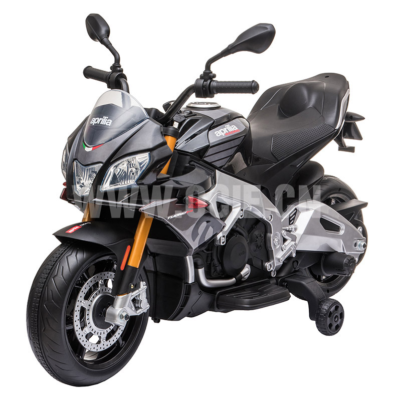 RECHARGEABLE MOTORCYCLE,W/APRILIA TUONO V4 LICENSE