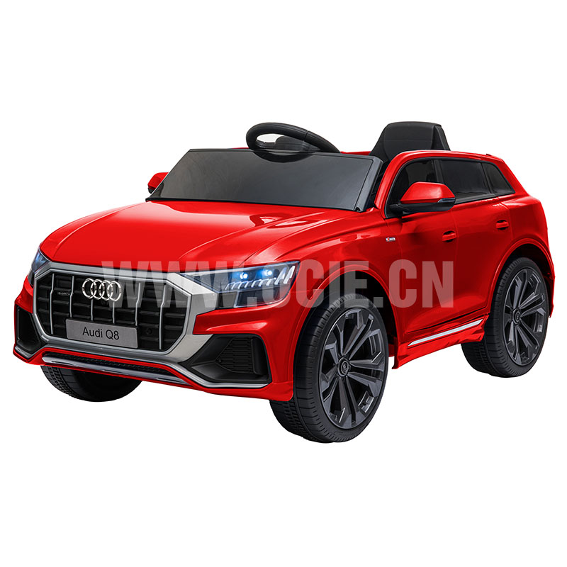 RECHARGEABLE CAR W/RC,LICENSED AUDI Q8