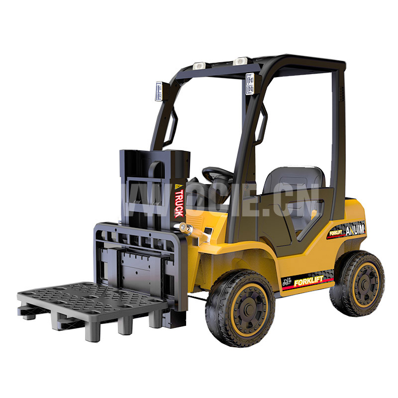 RECHARGEABLE FORK LIFT TRUCK W/RC