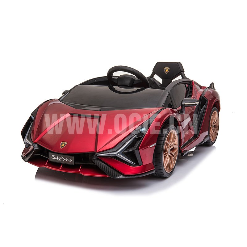 RECHARGEABLE CAR W/ RC LICENSED LAMBORGHINI SIAN