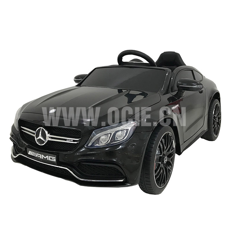 RECHARGEABLE CAR W/ RC, LICENSED MERCEDES-BENZ