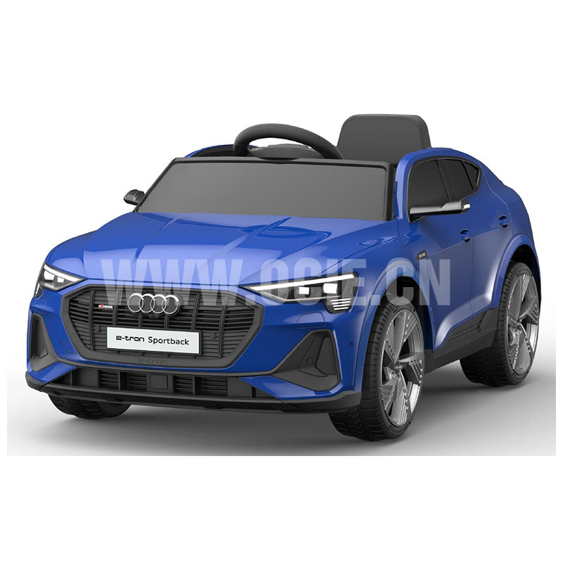 RECHARGEABLE CAR W/ RC,LICENSED AUDI E-TRON